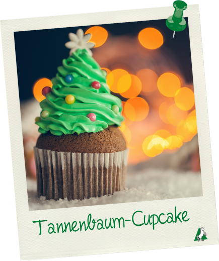 Muffin Tannenbaum.Tannenbaum Cupcakes