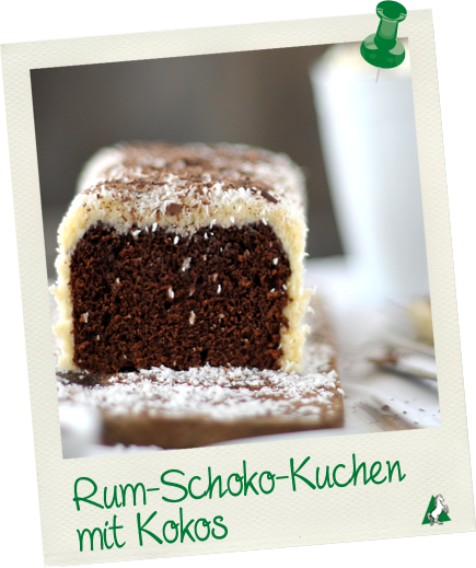 Rum Schoko Kuchen Mit Kokos